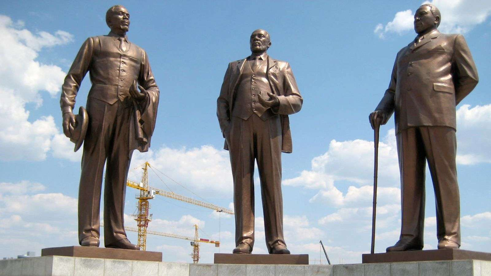 These gargantuan North Korean statues can be found all over Africa