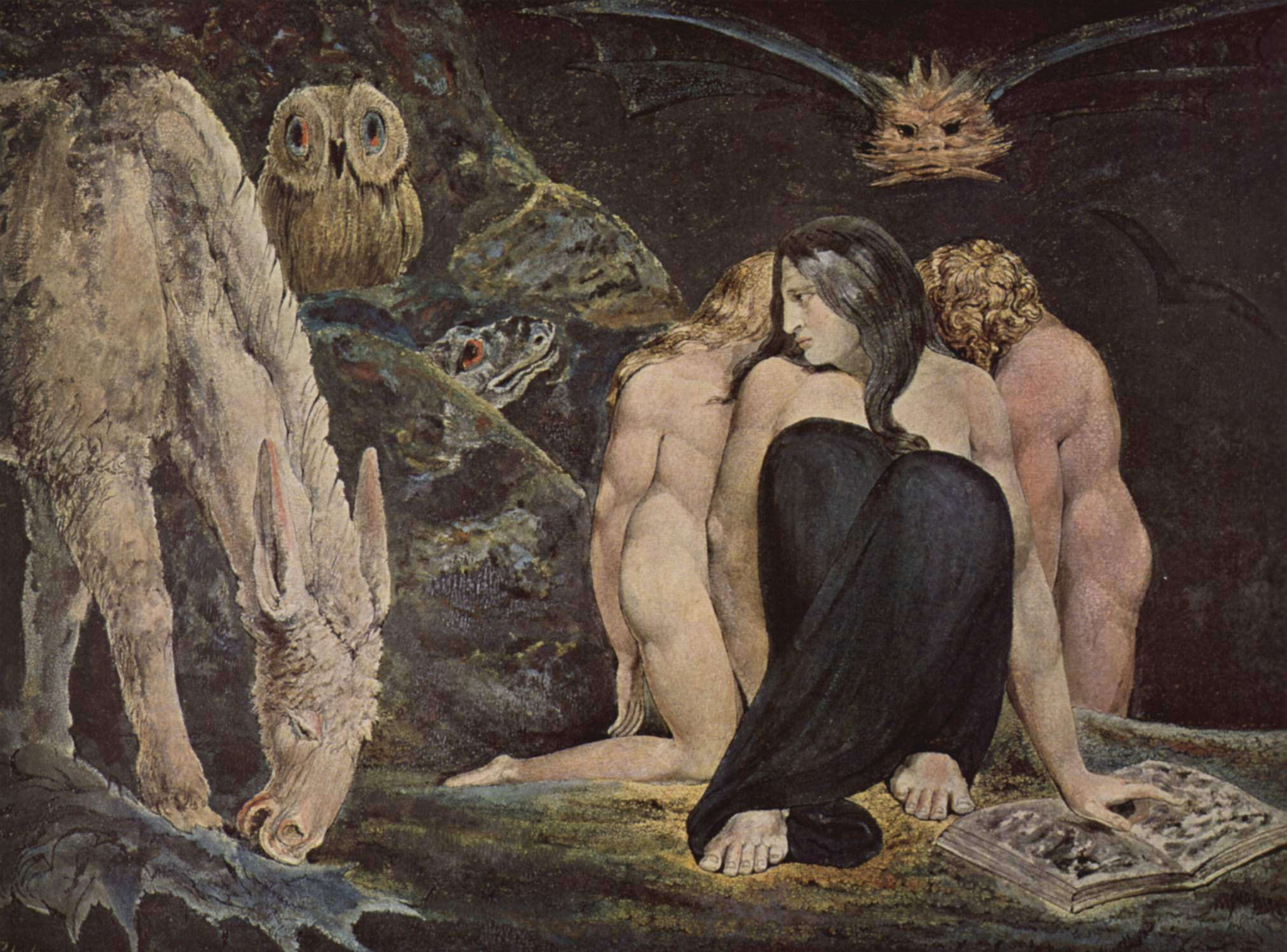 William Blake, The Triple Hecate.