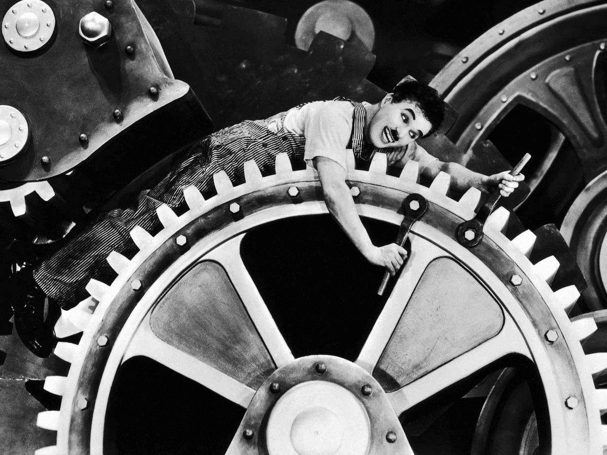 Οι Μοντέρνοι Καιροί είναι κινηματογραφική ταινία του Τσάρλι Τσάπλιν που γυρίστηκε το 1936