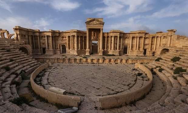Το ρωμαϊκό θέατρο της Παλμύρας