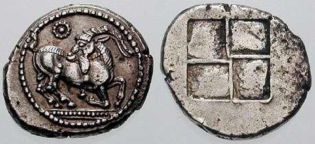 Τετράδραχμο των Αιγών, 500 π.Χ.