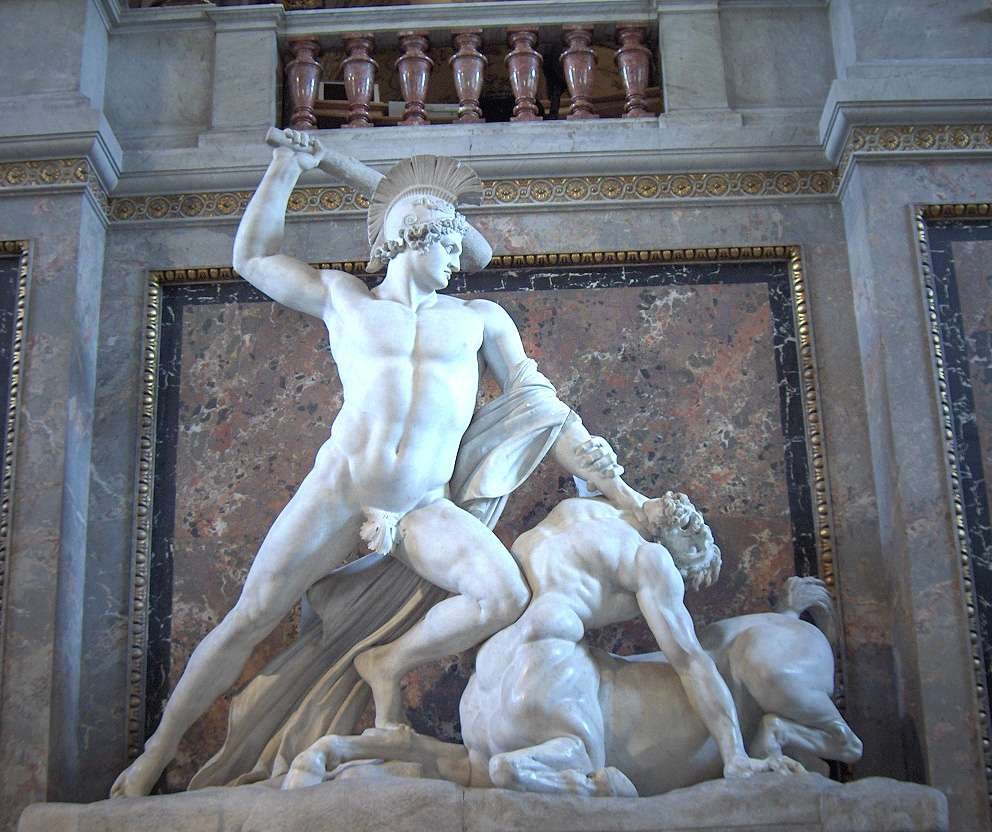 Antonio Canova, Theseus Defeats the Centaur (1805-1819)