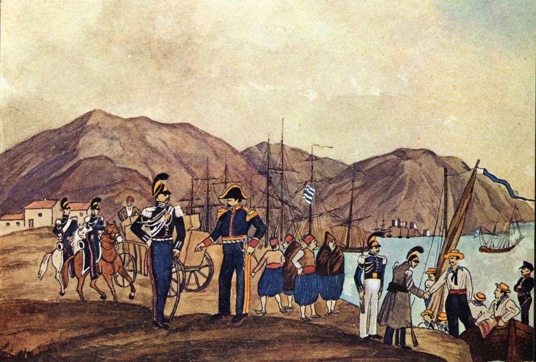 Άνδρες της Ελληνικής Χωροφυλακής το 1833