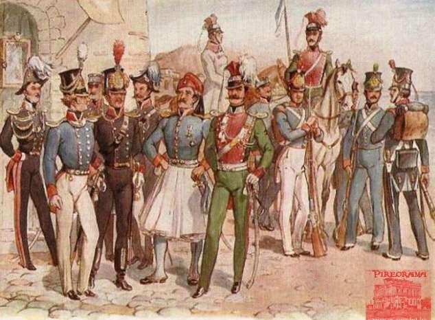 Οι στολές του νέου εθνικου στρατού