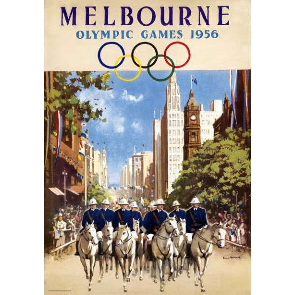 Μελβούρνη (Αυστραλία), 1956