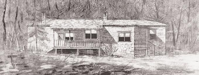 Δ. Πικιώνης: σχέδιο από δασικό χωριό στο Περτούλι (1953 – 1956), έργο που δεν ολοκληρώθηκε ποτέ