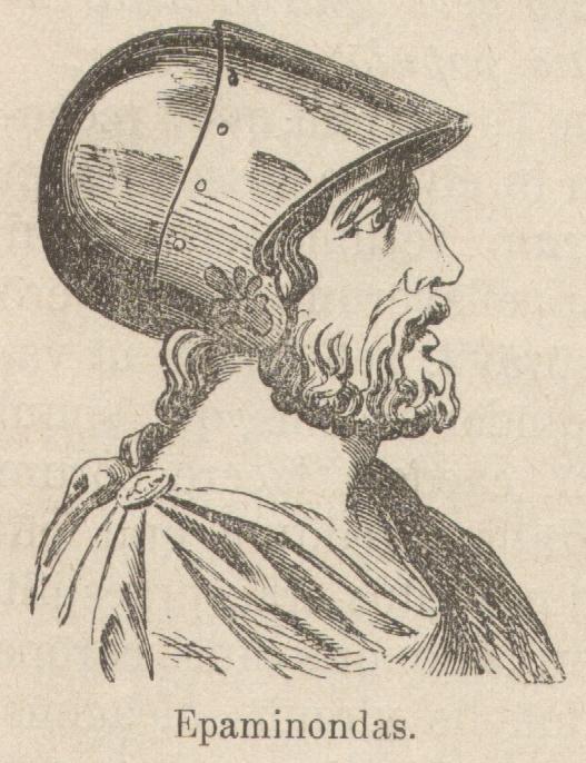 Ο Επαμεινώνδας (418 π.Χ. – 4 Ιουλίου 362 π.Χ.) ήταν Θηβαίος στρατηγός και πολιτικός του 4ου αιώνα π.Χ., ο οποίος απάλλαξε τη Θήβα από τη σπαρτιατική ηγεμονία και τη μετέτρεψε σε ισχυρή πόλη–κράτος με εξέχουσα θέση στην ελληνική πολιτική σκηνή.