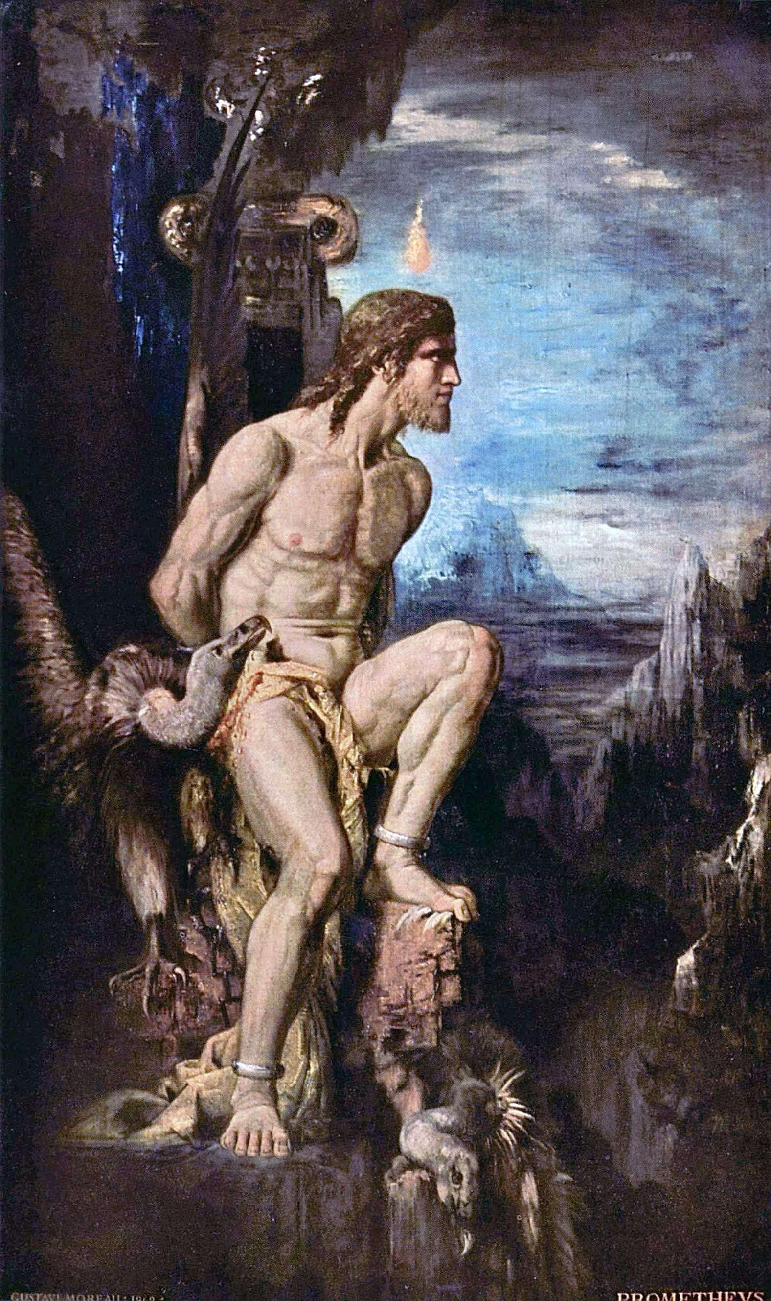 Prometheus (1868), by Gustave Moreau