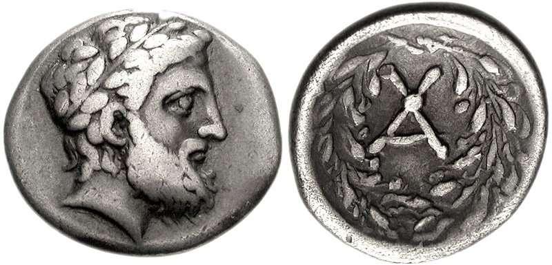 Ημίδραχμο της Αχαϊκής Συμπολιτείας, 250 π.Χ.