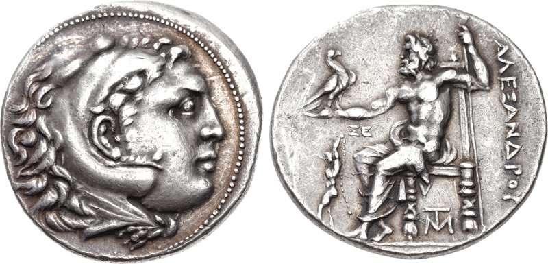 Μακεδονικό τετράδραχμο κοπής Σικυώνας, περιόδου 225-215 π.Χ.