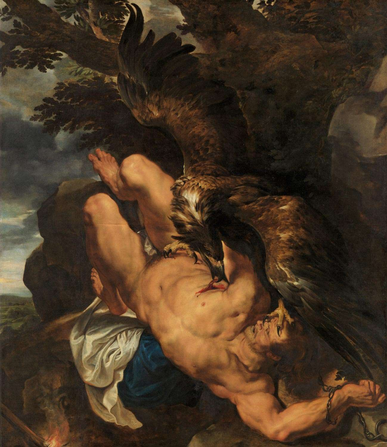 Chained Prometheus (1611–12), by Peter Paul Rubens
