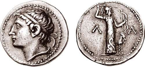 Νόμισμα που απεικονίζει τον Κλεομένη