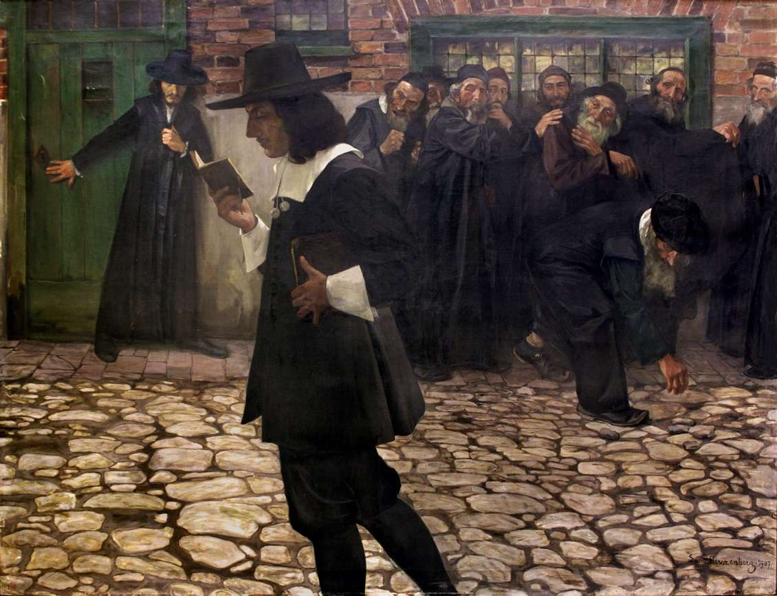 Szmul Hirszenberg: Spinoza and the Rabbis, 1907