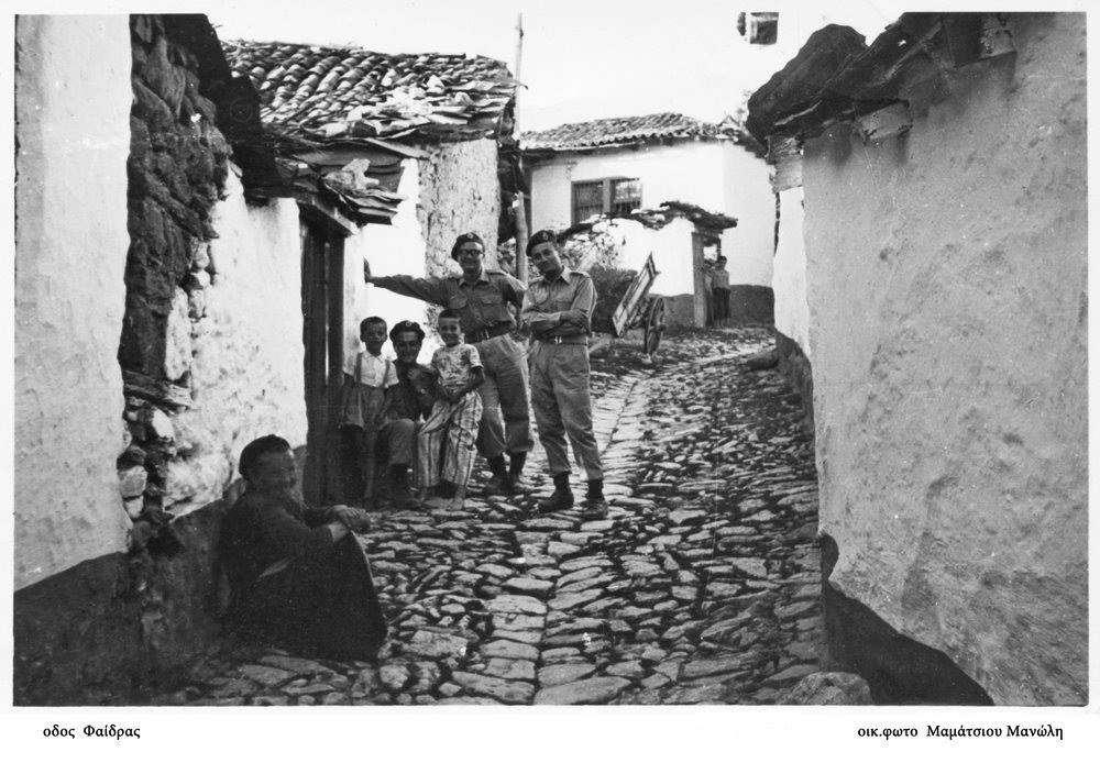 λιθόστρωτο δρομάκι στην παλιά Κοζάνη