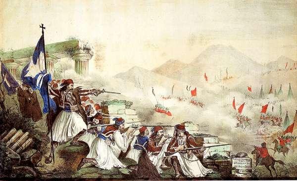 Γνωρίζουμε όμως ότι στον πρώτο χρόνο, πριν ακόμα συγκληθεί η πρώτη Εθνοσυνέλευση, τα ελληνικά όπλα αριστεύουν και η Επανάσταση εξαπλούται, ενώ όλα τα δεινά αρχίζουν μετά την Εθνοσυνέλευση.