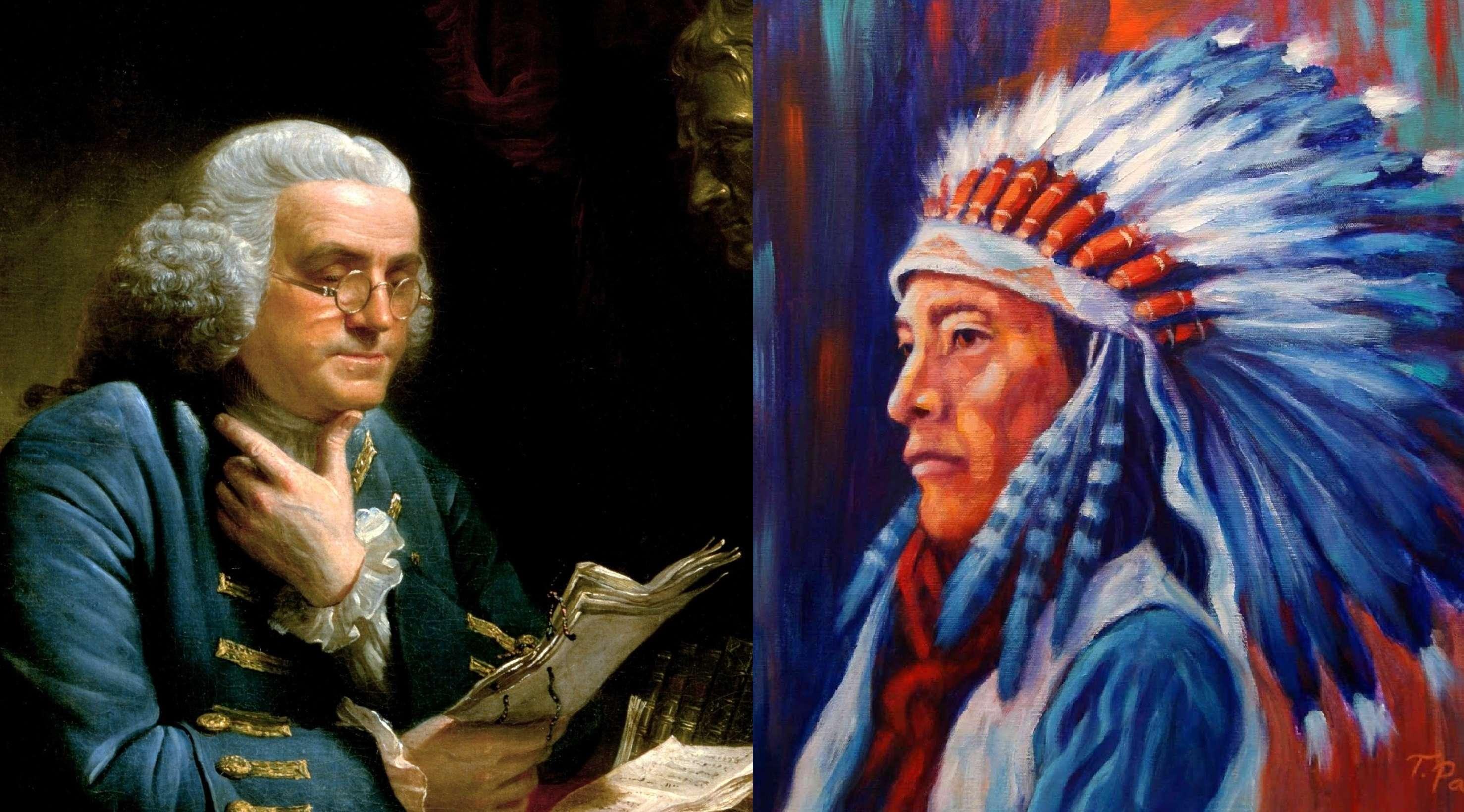 Ο Βενιαμίν Φρανκλίνος για τους Ινδιάνους