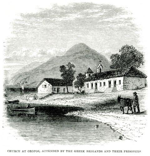 Η εκκλησία στον Ωρωπό όπου ληστές και απαχθέντες παρακολούθησαν τη λειτουργία