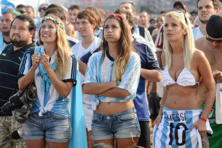 ποδοσφαιρικός αγώνας στην Αργεντινή