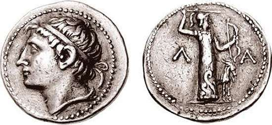 Lakonia, Kings of Lakedaimon (Sparta), Kleomenes III AR Tetradrachm. Struck circa 227-222 BC