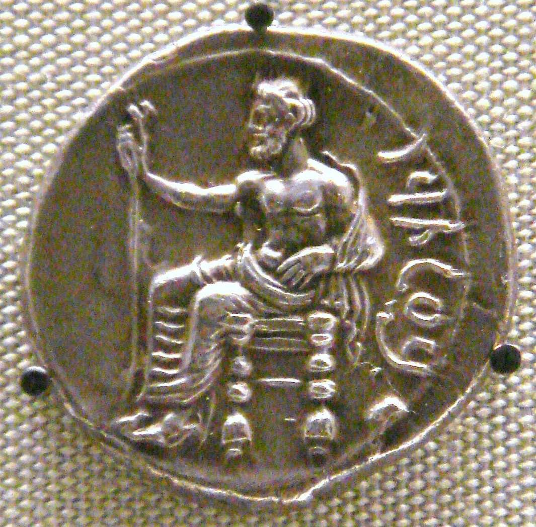 Ασημένιος στατήρας του Σατράπη της Φρυγίας Φαρνάβαζου - Βρετανικό Μουσείο