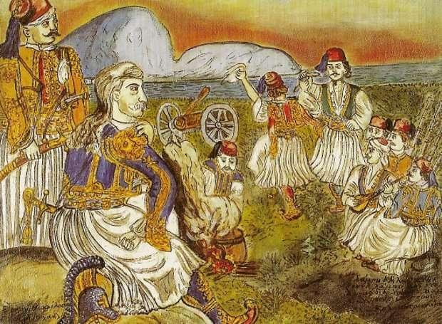 Θοδωρής Κολοκοτρώνης - πίνακας του Θεόφιλου