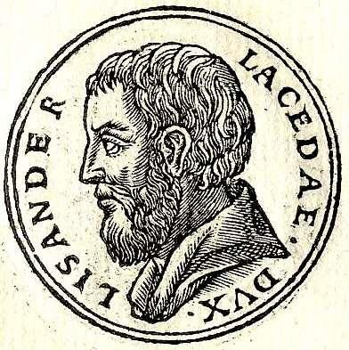 Ο Λύσανδρος (... - 395 π.Χ.) ήταν Σπαρτιάτης πολιτικός και στρατηγός, ο οποίος έπαιξε καθοριστικό ρόλο στη νίκη των Σπαρτιατών κατά των Αθηναίων στον Πελοποννησιακό πόλεμο το 404 π.Χ.