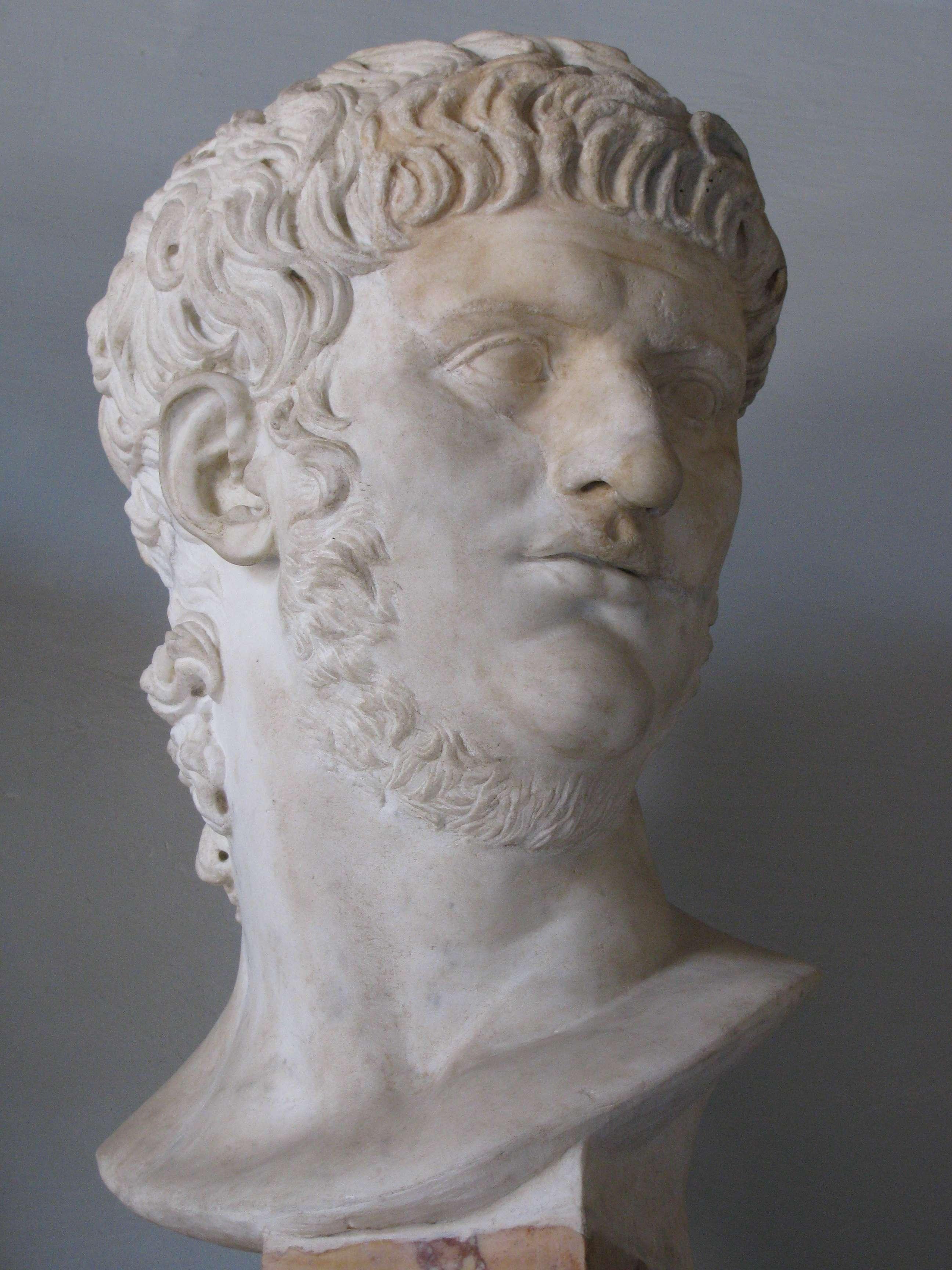Ο Νέρων (Nero Claudius Caesar Augustus Germanicus ή Lucius Domitius Ahenobarbus, 15 Δεκεμβρίου 37 - 9 Ιουνίου 68) ήταν Ρωμαίος Αυτοκράτορας από το 54 έως το 68 και ο τελευταίος της Ιουλιο-Κλαυδιανής Δυναστείας. Ο Νέρων υιοθετήθηκε από τον Κλαύδιο και έγινε κληρονόμος και διάδοχός του. Ανήλθε στο θρόνο το 54, μετά το θάνατο του Κλαύδιου.