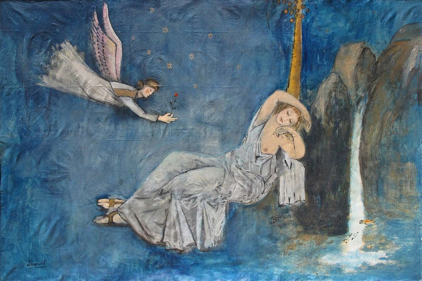 Vincent Decourt – Maryam with Angel (2013)