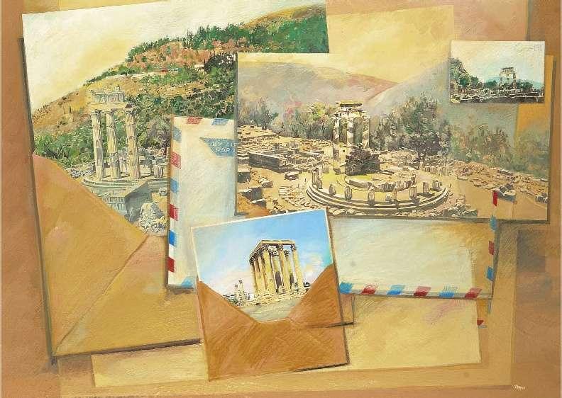 Κώστας Ράμμος, Καρτ ποστάλ (Δελφοί