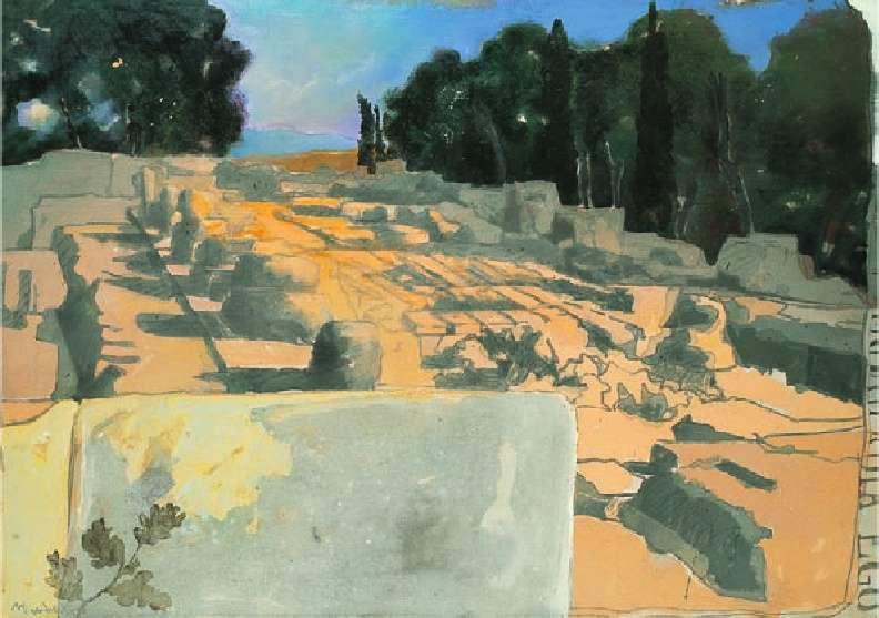 Μανώλης Χάρος, Ο ναός του Διός στην Ολυμπία