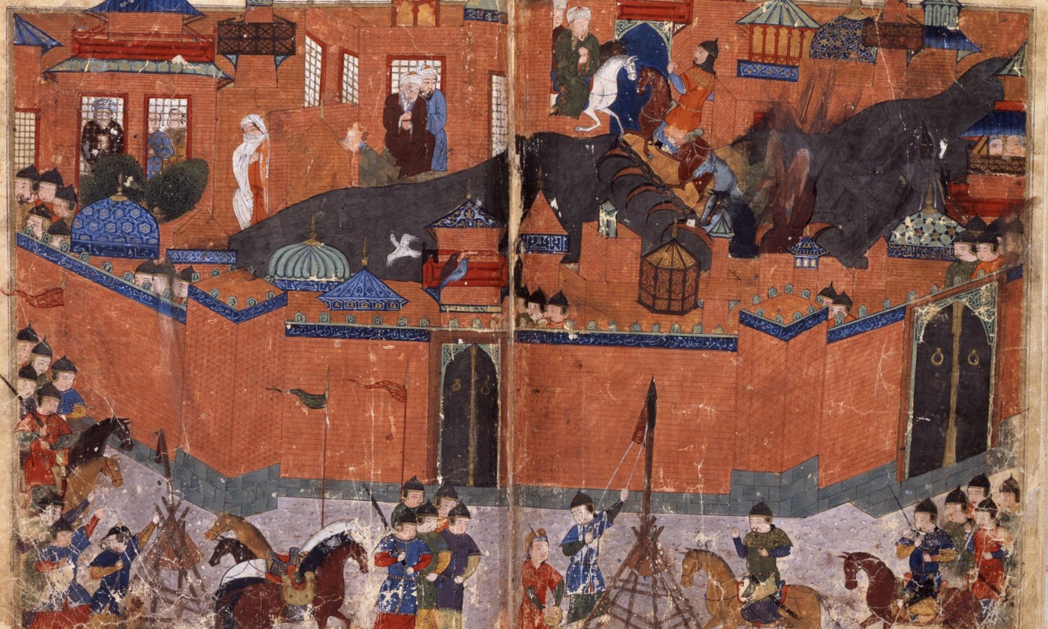 Η πολιορκία της Βαγδάτης το 1258 (πηγή)