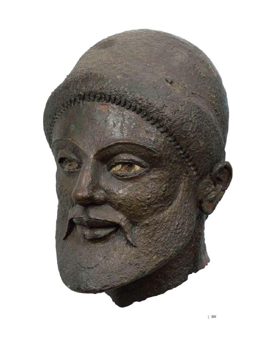 Χάλκινη κεφαλή, 5ος αιώνας π. Χ. Αρχαιολογικό Μουσείο Αθηνών