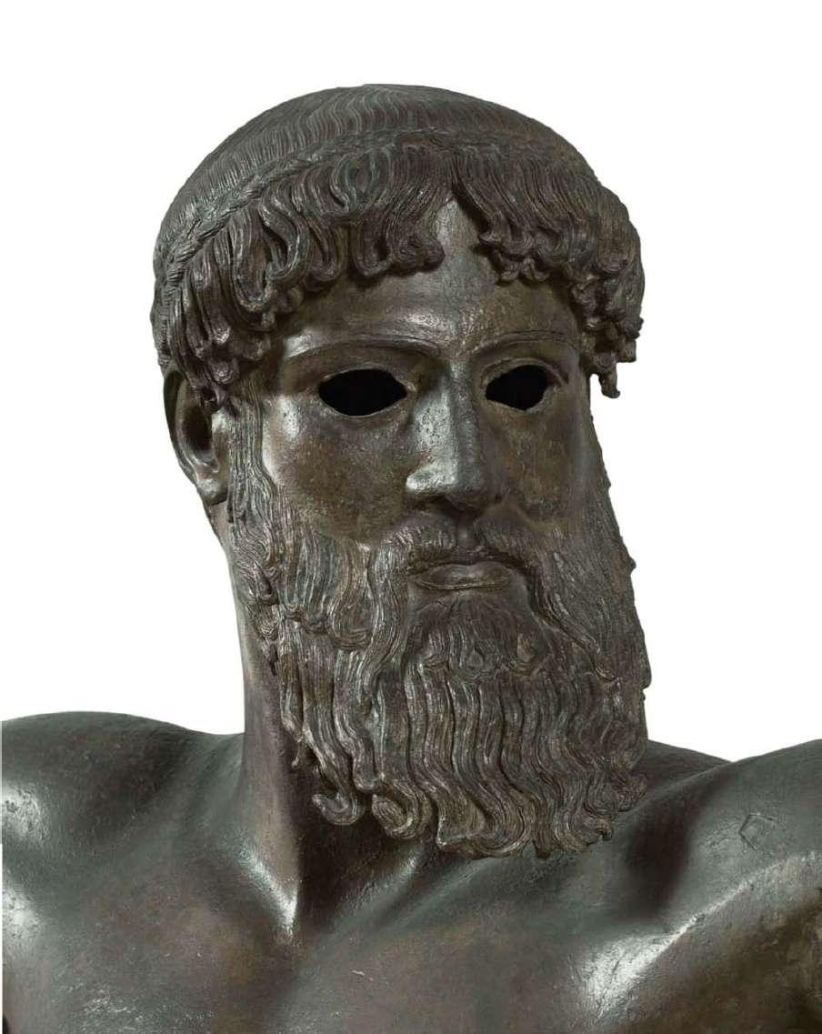 Ο Ζεύς ή ο Ποσειδώνας. Άγαλμα στο Αρχαιολογικό Μουσείο Αθηνών