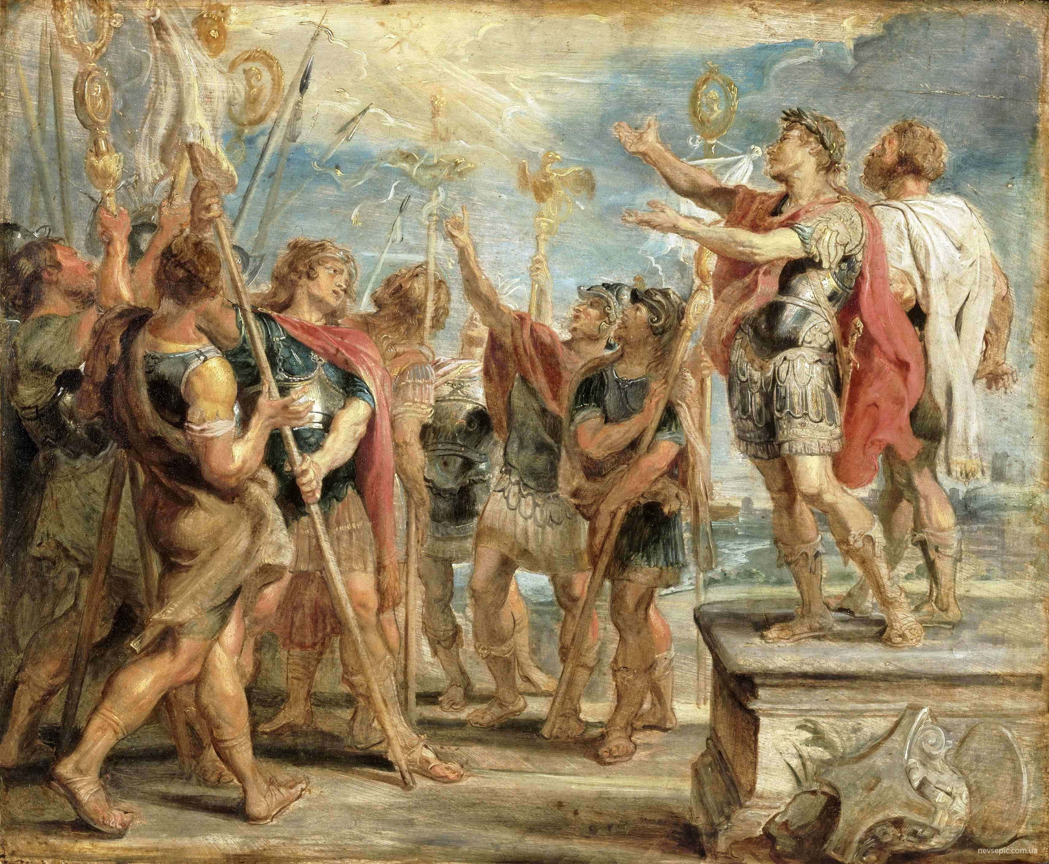 «Η μεταστροφή του Κωνσταντίνου», πίνακας του Ρούμπενς
