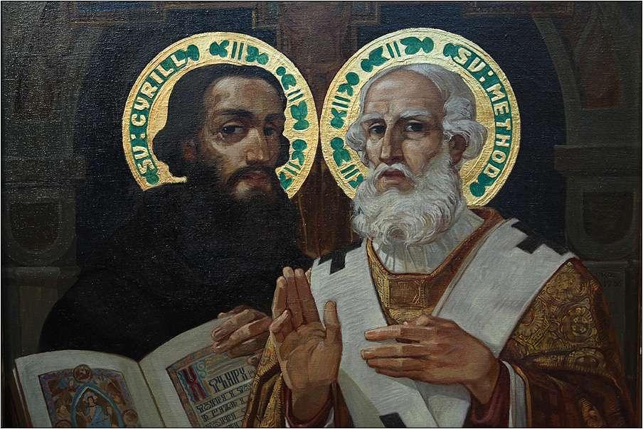 Οι Άγιοι Κύριλλος και Μεθόδιος (826-869, 815-885, Παλαιά Εκκλησιαστική Σλαβονική Кѷриллъ и Меѳодїи]] ήταν αδέλφια,Βυζαντινοί Χριστιανοί θεολόγοι και ιεραπόστολοι.
