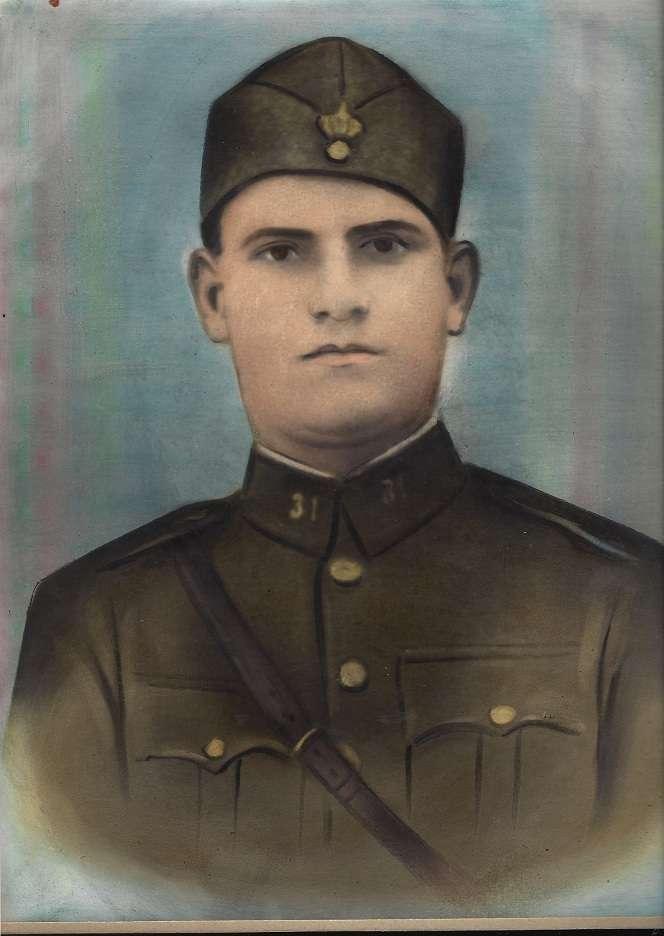 Ο Βασίλειος Τζίτζιος έπεσε ηρωικά μαχόμενος για την πατρίδα, στο διάστημα 9- 11 Μαρτίου του 1941 στο ύψωμα 802 (Μπούμπεσι) . κατά τη διάρκεια της εαρινής επίθεσης του Μουσολίνι.