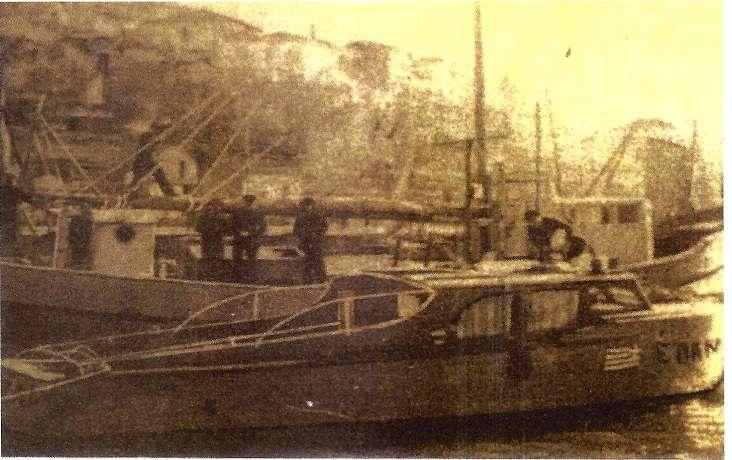 """Το σκάφος του ΕΛΑΝ """"Ξελογιάστρα"""" στο λιμάνι της Καβάλας."""