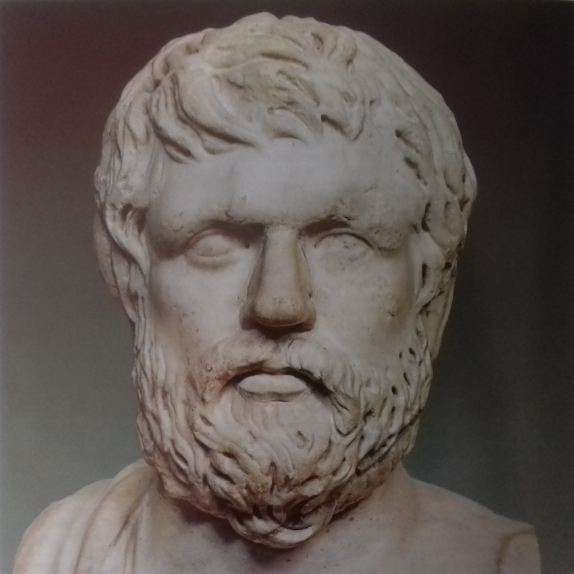 Ο Ξενοφών (Ερχία, 430 π.Χ. - Κόρινθος, 355 π.Χ.) ήταν Αθηναίος ιστορικός συγγραφέας και σωκρατικός φιλόσοφος. Ρωμαϊκό αντίγραφο προτομής του 4ου π.Χ. αιώνα. Μαδρίτη. Μουσείο Prado.