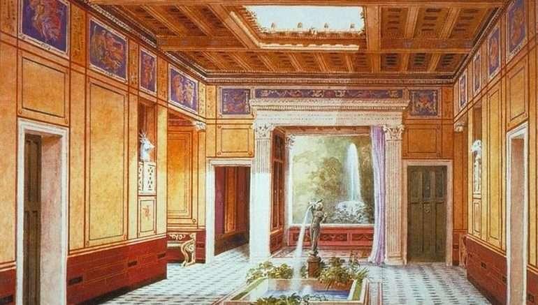 Ψηφιακή αναπαράσταση αρχαιορωμαϊκού σπιτιού