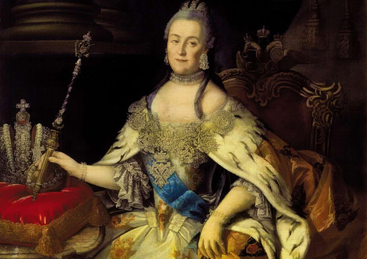 Η Αικατερίνη Β΄ της Ρωσίας, η επονομαζόμενη «Μεγάλη» (Ρωσικά: Екатерина II Великая, Yekaterina II Velikaya, μεταγραφή Γιεκατερίνα ΙΙ Βελίκαγια 2 Μαΐου 1729 – 17 Νοεμβρίου 1796) ήταν, γερμανικής καταγωγής, Αυτοκράτειρα της Ρωσίας