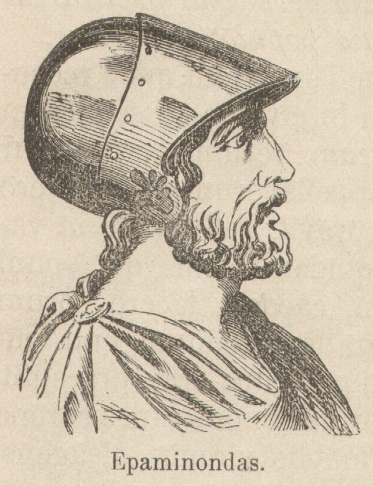 Ο Επαμεινώνδας (418 π.Χ. – 4 Ιουλίου 362 π.Χ.) ήταν Θηβαίος στρατηγός και πολιτικός του 4ου αιώνα π.Χ.
