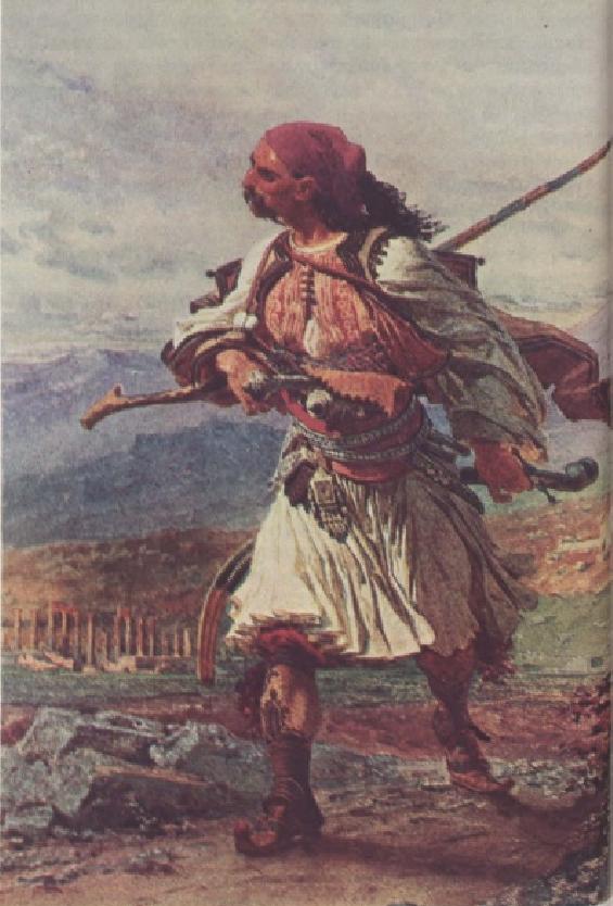 Κλέφτης των χρόνων της τουρκοκρατίας. Αθήνα, Γεννάδειος Βιβλιοθήκη