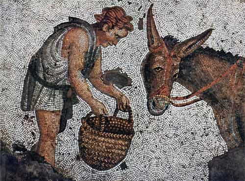 Βυζαντινό ψηφιδωτό. 5ος αιώνας μ.Χ.