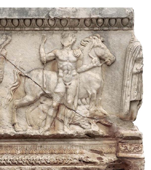 Η σαρκοφάγος του Μελέαγρου. 2ος αιώνας μ.Χ. Αρχαιολογικό Μουσείο Δελφών