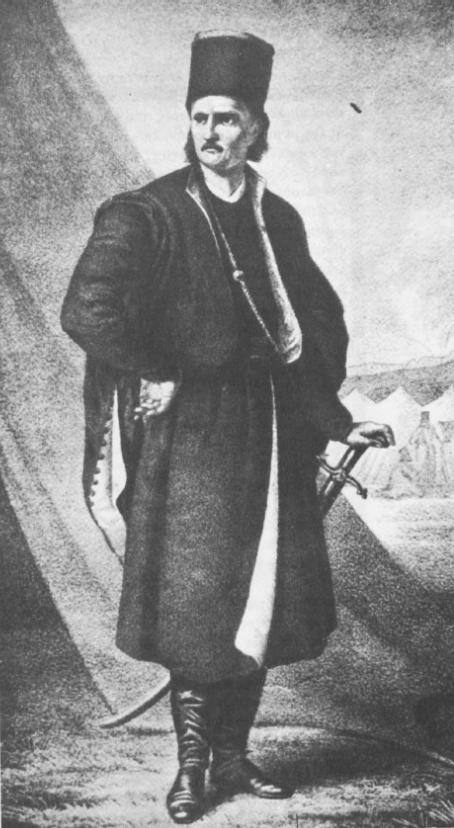Ο Ρουμάνος (βλάχικης καταγωγής) ηγέτης των πανδούρων (χωρικών) Θεόδωρος Βλαδιμηρέσκου