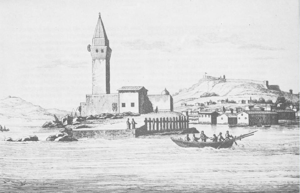 Φρούριο της Ζακύνθου. S. Pomardi. Roma 1820. Πηγή: Διον. Κόκκινος, Η Ελληνική Επανάστασις.