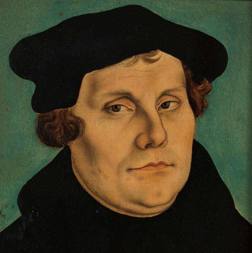 Ο Μαρτίνος Λούθηρος (10 Νοεμβρίου 1483 – 18 Φεβρουαρίου 1546) ήταν Γερμανός μοναχός, ιερέας,[1] καθηγητής, θεολόγος, ηγέτης της εκκλησιαστικής μεταρρύθμισης του 16ου αιώνα στη Γερμανία, και θεμελιωτής των χριστιανικών δογμάτων και πρακτικών του Προτεσταντισμού.