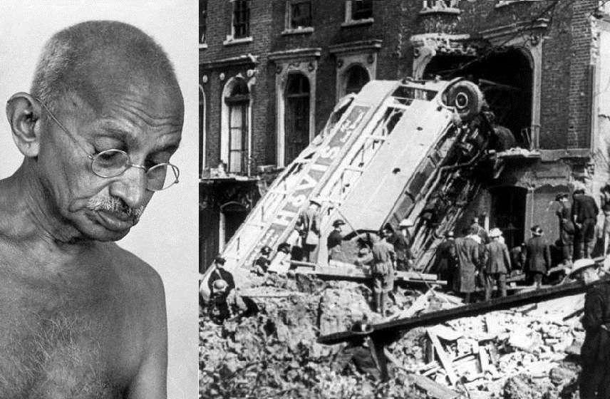 Ανοιχτή επιστολή του Γκάντι προς τους Βρετανούς του 1940 – 'καταθέστε τα όπλα σας'