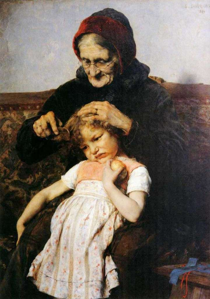 «Το χτένισμα της εγγονής», Γεώργιος Ιακωβίδης