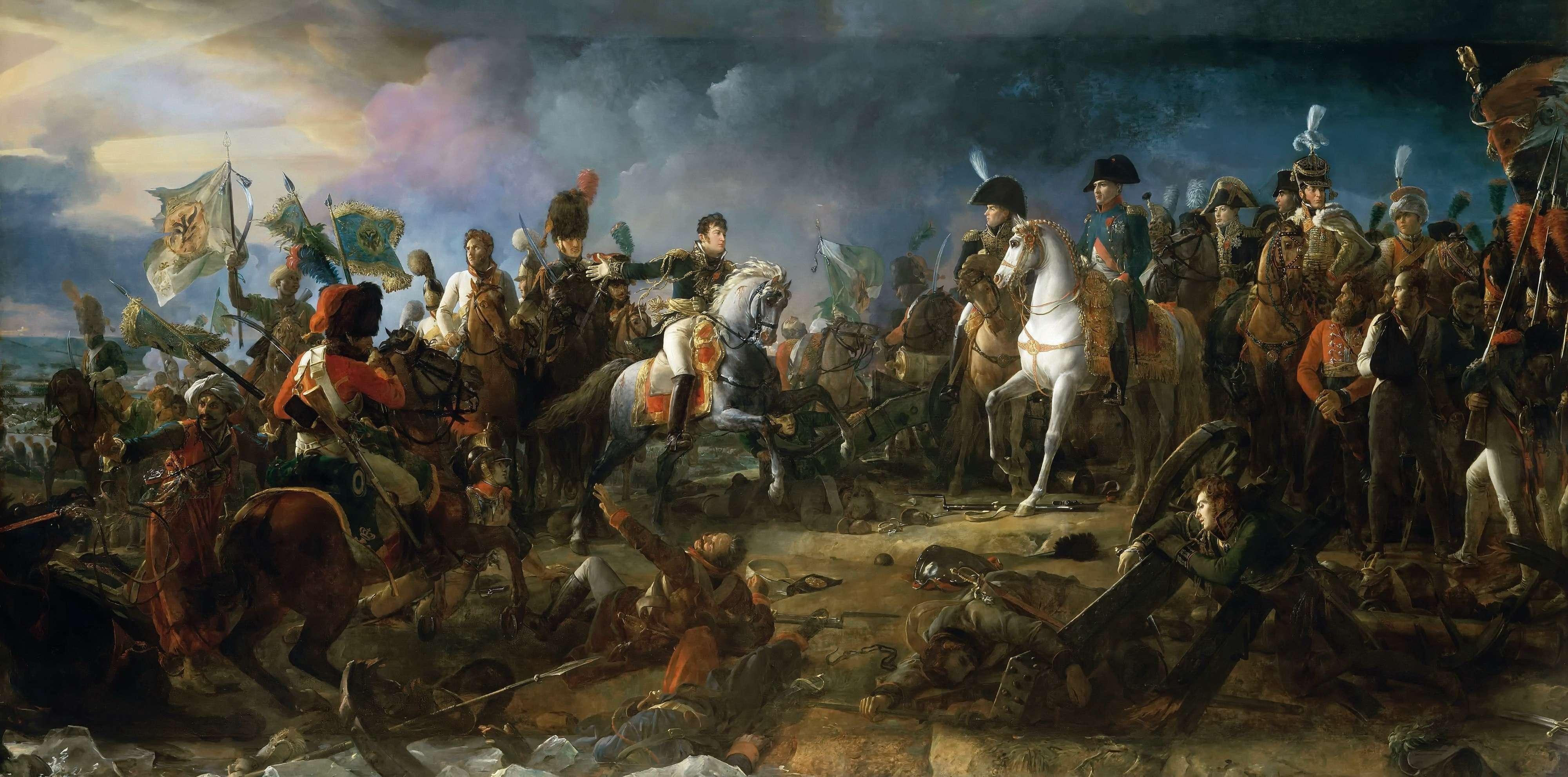 Οι Ναπολεόντιοι Πόλεμοι ήταν μια σειρά πολέμων που κηρύχθηκαν ενάντια στην Α' Γαλλική Αυτοκρατορία του Ναπολέοντα από αντίπαλες συμμαχίες που έλαβαν χώρα από το 1803 μέχρι το 1815.